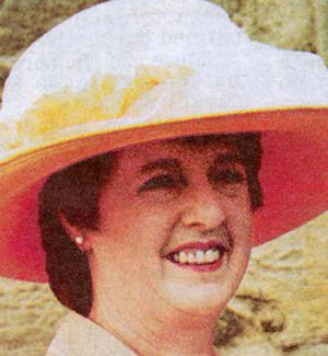 Olive Hawkes, aged 60