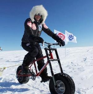 Helen Skelton, known for her daring fund-raising exploits, has set off on a polar adventure for Sport Relief (Comic Relief)