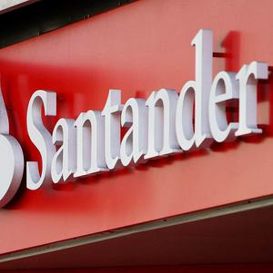 Santander's net profits dropped 94 per cent compared to the same period last year