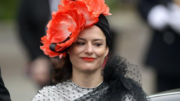 Miriam Gonzalez Durantez, wife of Deputy Prime Minister Nick Clegg arrives  at Westminster Abbey ahead of the wedding between Prince William and Kate Middleton. PRESS ASSOCIATION Photo. Picture date: Friday April 29 2011. Photo credit should read: Lewis Whyld/PA Wire