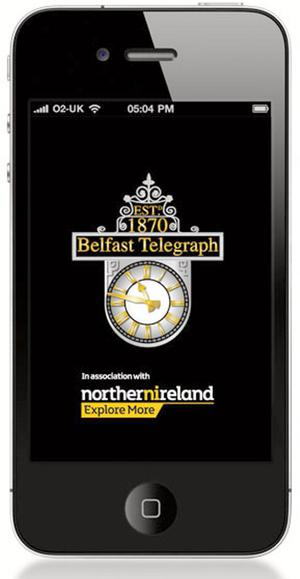 Belfast Telegraph readers can now sign up for our new mobile apps.