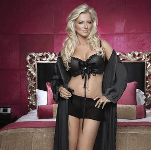 Michelle Mone appears in her first lingerie photo shoot