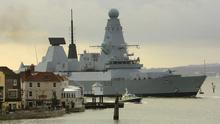 Royal Navy's HMS Dauntless, which is being sent to the Falkland Islands, the Ministry of Defence said today.  January 31, 2012