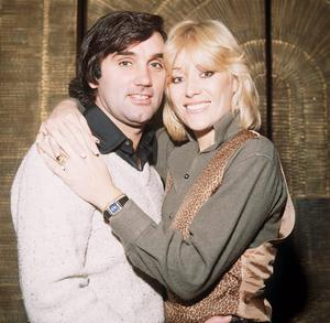 George Best with wife Angie Best 1979