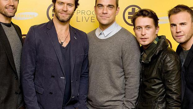 Take That changed their song at the last-minute on the X Factor final following a dispute over backing dancers, it was claimed