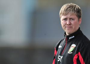 Scott Young, who quit Glentoran at the weekend, could be replaced by former Northern Ireland star David McCreery