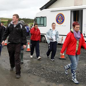 Friends of Karen Coyles joined search parties to look for the missing sportswoman