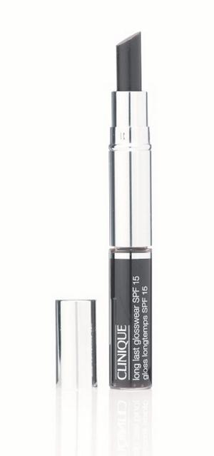 Clinique limited edition Dual Ended Almost Lipstick and Long Last Glosswear in Black Honey, |£17