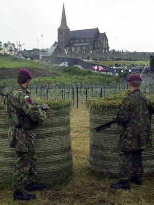 Army Prepare For Drumcree July 2001