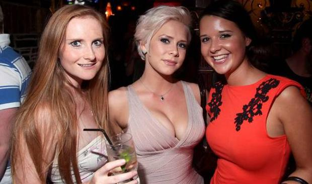 Holly Sweeney, Clare Graham and Sarah Beck