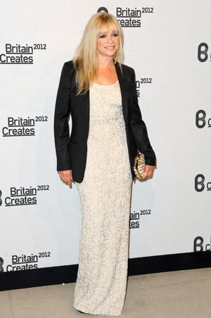 Jo Wood attends Britain Creates 2012: Fashion & Art Collusion  at Old Selfridges Hotel on June 27, 2012 in London, England.