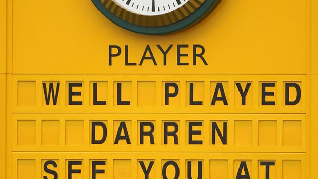 SANDWICH, ENGLAND - JULY 17:  General View of the final leaderboard at the end of the final round following Darren Clarke's victory in The 140th Open Championship at Royal St George's on July 17, 2011 in Sandwich, England.  (Photo by Scott Halleran/Getty Images)