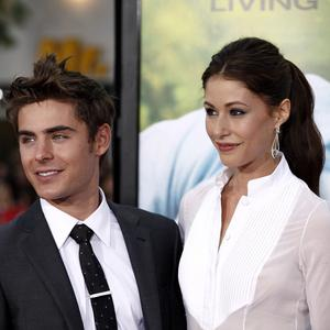 Zac Efron and Amanda Crew filmed love scenes on fake, heated grass