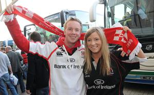 Aaron Stewart and Catherine Bell from Belfast