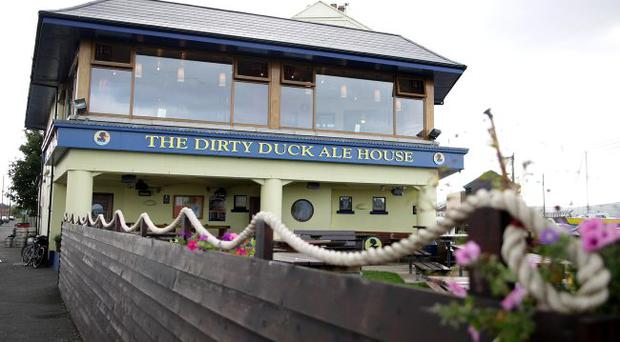 The Dirty Duck Bar/Restaurant in Holywood