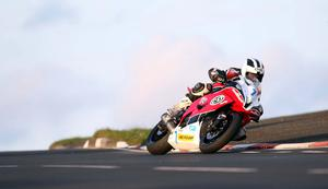 600cc rider William Dunlop pictured at the opening practice night of the 2010 Relentless North West 200
