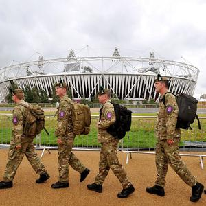 Some 3,500 military personnel will be involved with security at the Paralympics, compared with 12,200 at the Olympics
