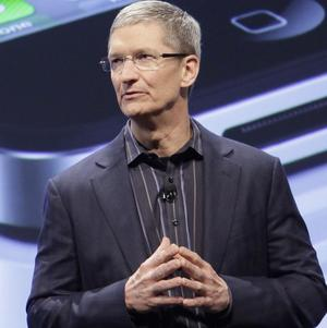 Apple's chief operating officer Tim Cook is the new named CEO (AP)