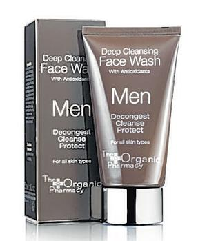 <b>The Organic Pharmacy Deep Cleansing Face Wash</b><br/>  This product is free from preservatives and removes dirt, impurities and pollution leaving your skin feel soft and smooth.<br/>  <b>Where </b>The Organic Pharmacy (www.theorganicpharmacy.com) <br/>  <b>How much</b> £15 (75ml)