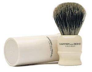 <b>Carter and Bond Shaving Brush</b><br/>  A good shaving brush gives a smoother shave by ensuring that each hair is thoroughly lubricated with soap.<br/>  <b>Where</b> Carter and Bond (www.carterandbond.com) <br/>  <b>How much</b> £25.95