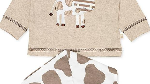 <b>6. Mothercare</b>  £10, mothercare.com  These cow-themed unisex pyjamas are made for newborns up to three-year-olds. The embroidery is fabric backed so it won't irritate your baby's delicate skin.