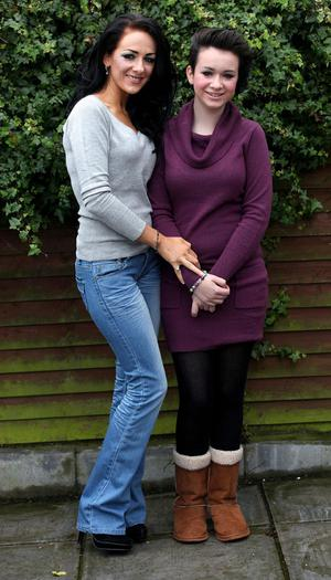 Rachel Johnston pictured with her daughter Honour