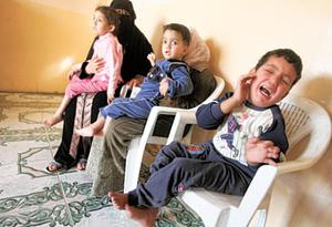 Mariam, Ammar and Mustafa suffer from birth defects. Birth defects have soared in Fallujah, which was the site of two major battles between the U.S military and insurgents after the invasion of Iraq according to Iraqi doctors
