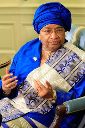 <b>Ellen Johnson-Sirleaf - President of Liberia </b><br/> Liberia is the first African nation to have a female president. Ellen Johnson-Sirleaf was elected in a runoff vote in 2005, having led a peace movement called Women of Liberia Mass Action for Peace. She formally took office in January 2006 and her inauguration was attended by the then United States Secretary of State Condoleezza Rice and First Lady Laura Bush. Since coming to power she has established a Truth and Reconciliation Comission to investigate 20 years of civil war in the country and to promote national peace and unity.