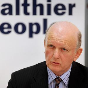 The future of Belfast's Mater Hospital is 'secure', says Health Minister Michael McGimpsey