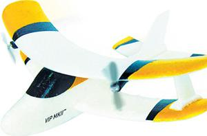 <b>{3} VIRTUALLY INDESTRUCTIBLE RC PLANE </b><br/> The problem with most remote control planes is that they break so easily ? a couple of rough landings and they're kaput. Not this one, however, which is made from crash-resistant plastic. <b>£39.99, argos.co.uk</b>