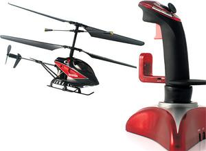 <b>{9} BLADEZ TOYZ I-BLADEZ</b><br/> This good value, remote-control helicopter is so much fun you might find yourself using it. There's a surprising amount of control to be had with the joystick, so no excuse for crashing. <b>£39.99, homegardenliving.co.uk</b>
