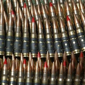 Oxfam has warned that ammunition needs to be regulated as part of a global weapons treaty