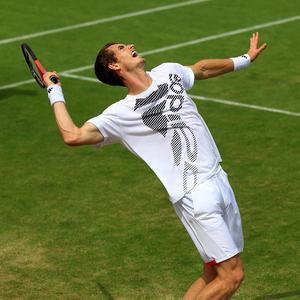 Andy Murray will take on Ivo Karlovic in his next match at Wimbledon