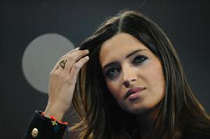 Girlfriend of Iker Casillas of Spain, Sara Carbonero, attends the 2010 FIFA World Cup South Africa Final match between Netherlands and Spain at Soccer City Stadium on July 11, 2010 in Johannesburg, South Africa