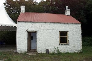 The Lock Keeper's Cottage before its renovation
