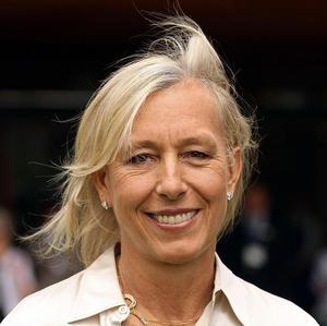 Martina Navratilova is open about her sexuality