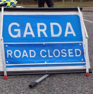 A pedestrian has been killed in a hit-and-run collision at Sallins Village