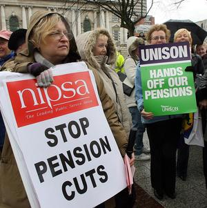 Union leaders have met local government employers to discuss the dispute over pensions