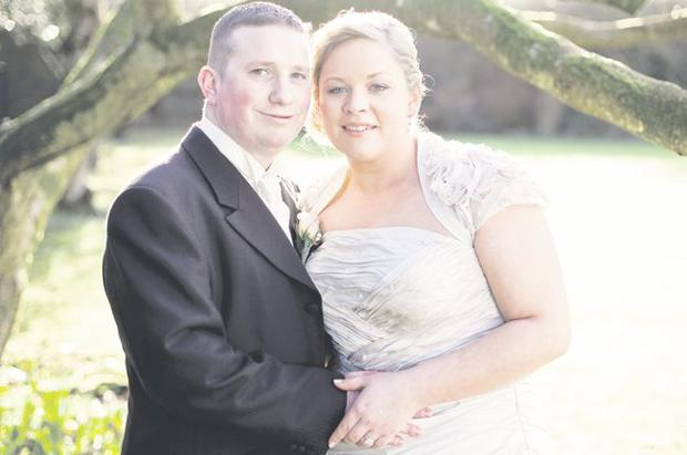 Stephen Morrison and Kathy Graham got married at First Donegore Presbyterian Church in Templepatrick