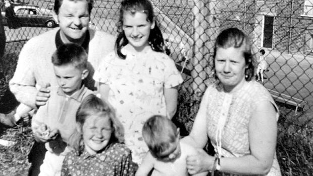 Northern Ireland Troubles Gallery: Mrs Mary Meehan who was shot by the army in Cape Street, 23rd october 1971. Family photo.