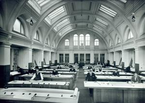 Harland & Wolff drawing room. Photograph © National Museums Northern Ireland. Collection Harland & Wolff, Ulster Folk & Transport Museum