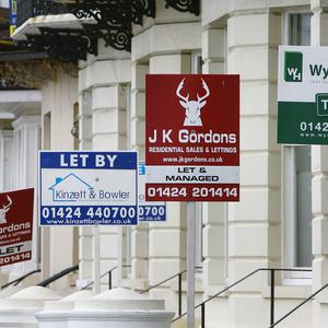 Property prices have risen by 5%