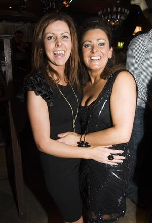 Christmas Social Pics -Taphouse pictured Olivia Hanson and Lisa McSHane