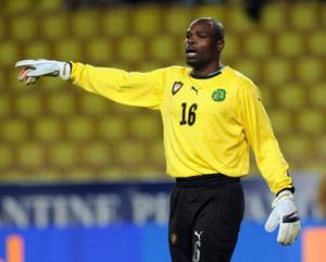 <b>Hamidou Souleymanou (Cameroon)</b><br/> Hamidou is no longer Cameroon's first choice keeper, but he can expect to be on the bench in South Africa.