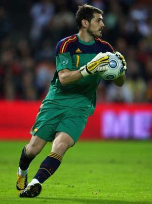 <b>Iker Casillas (Spain)</b><br/> If you're looking for one of the best keepers at this summer's tournament, you would do well to cast your eye towards Spain. Their No 1 is Real Madrid stopper Iker Casilla. At 29 he's already made over 100 appearances for the national side and is undoubtedly one of the best in the business.