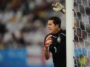 <b>Julio Cesar (Brazil)</b><br/> Running Casillas close for the best stopper at the tournament will be Julio Cesar of Brazil. The 30-year-old was an essential ingredient in Inter Milan's run to the Champions League title, pulling off a memorable save against Lionel Messi along the way.