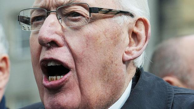 Ian Paisley bowed out of Stormont with a rousing speech