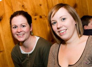 Lorraine McCready and Sharyn McMaster in the Little Wing, Bangor