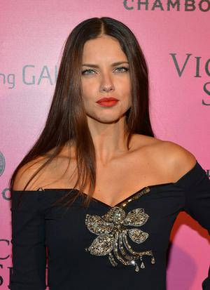 NEW YORK, NY - NOVEMBER 07:  Model Adriana Lima attends Samsung Galaxy features arrivals at the official Victoria's Secret fashion show after party on November 7, 2012 in New York City.  (Photo by Slaven Vlasic/Getty Images for Samsung Galaxy)