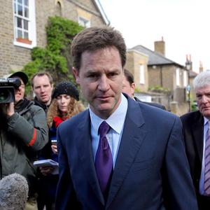 Nick Clegg and his party are considering offers from the Conservatives and Labour